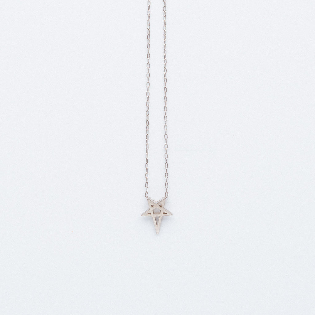 NSC - Plain Star Necklace in Gold Plated