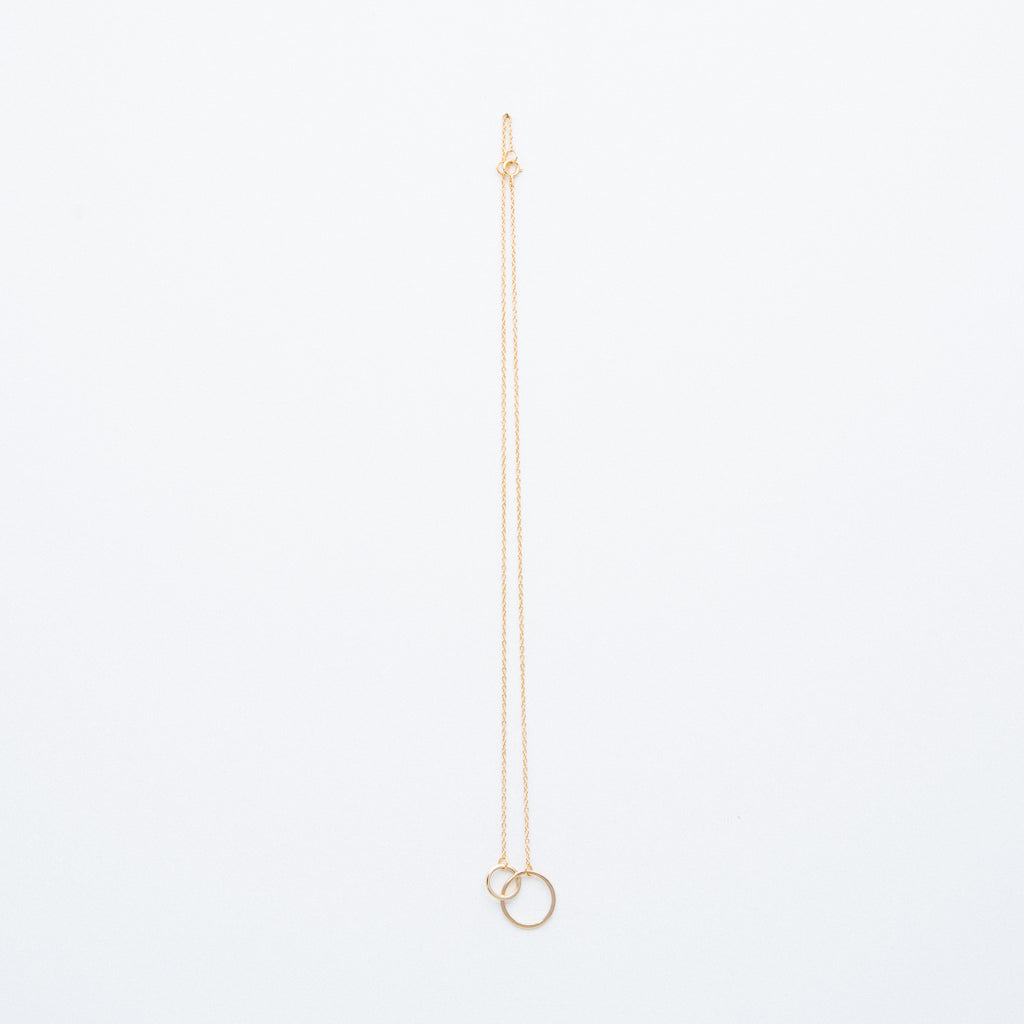 NSC - Interlocking Circle Necklace