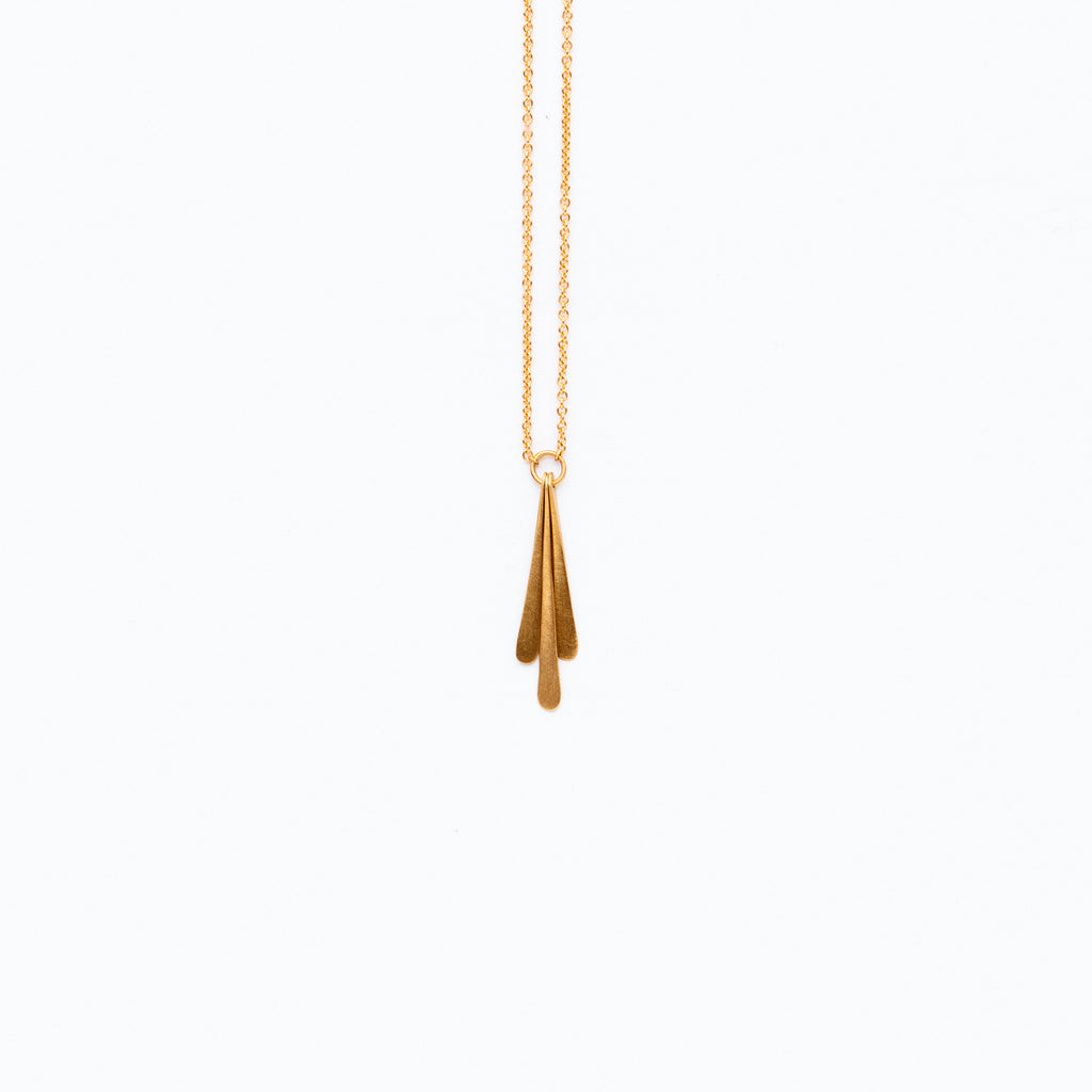 Carla Caruso - Triple Fringe Necklace