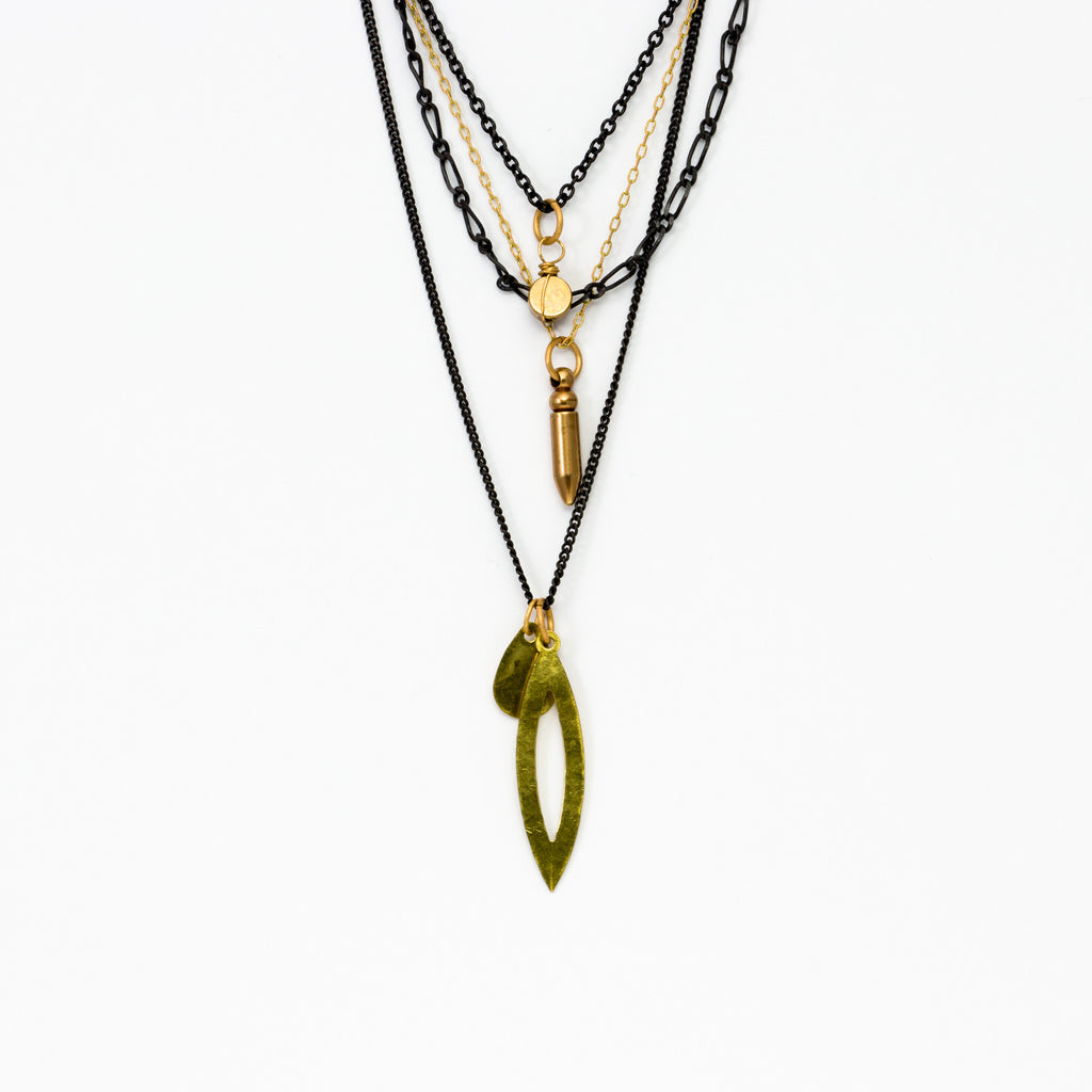Cecilia Gonzales - Modern Quartet Necklace
