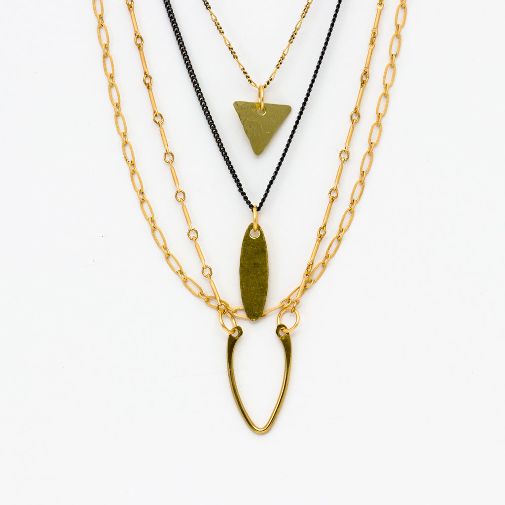 Cecilia Gonzales - Vanina Gold Necklace