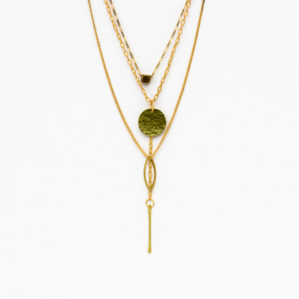 Cecilia Gonzales - Keira Gold Necklace - Norbu