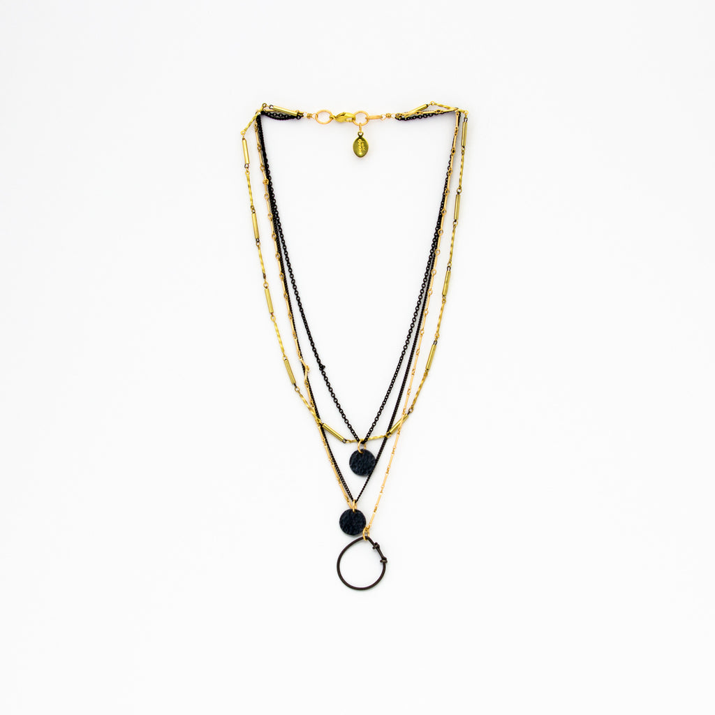Cecilia Gonzales - Raining Mix Necklace