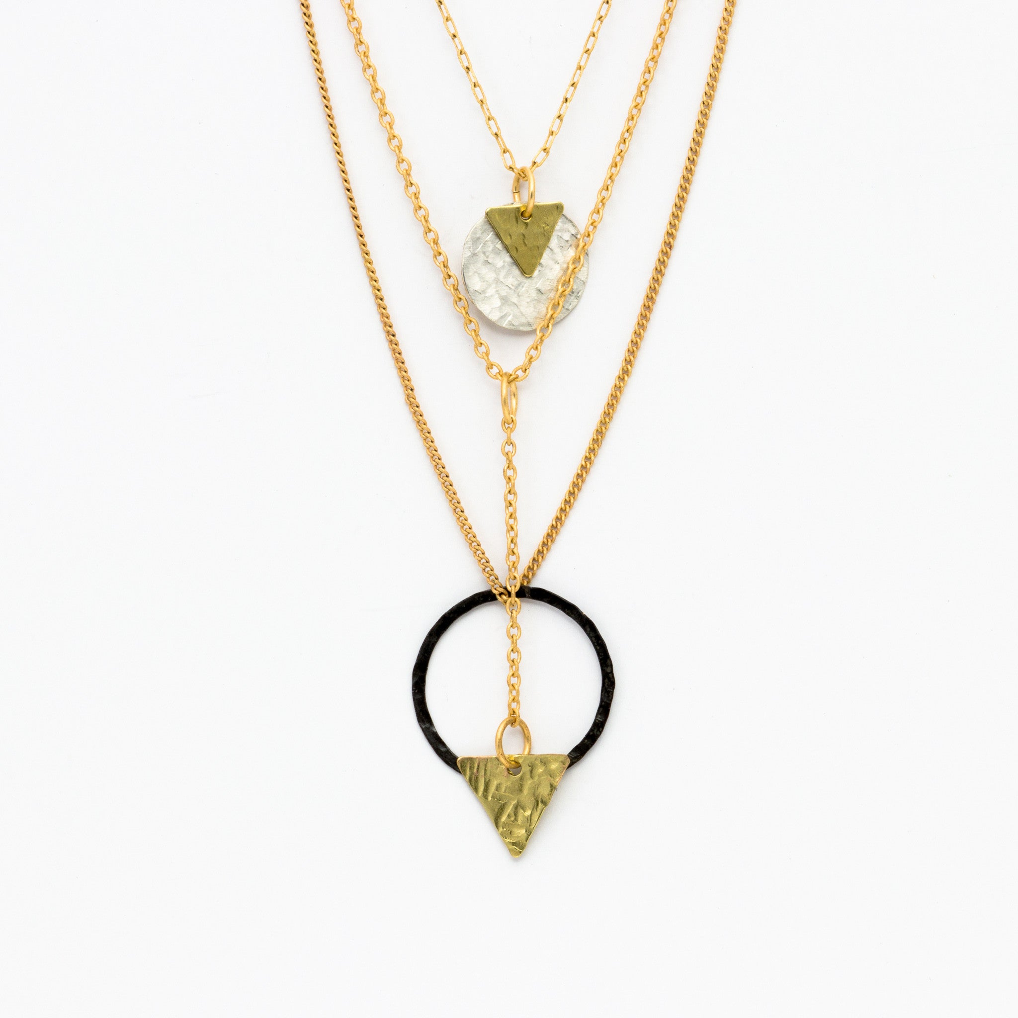 Cecilia gonzales shapes gold necklace norbu cecilia gonzales shapes gold necklace aloadofball Gallery