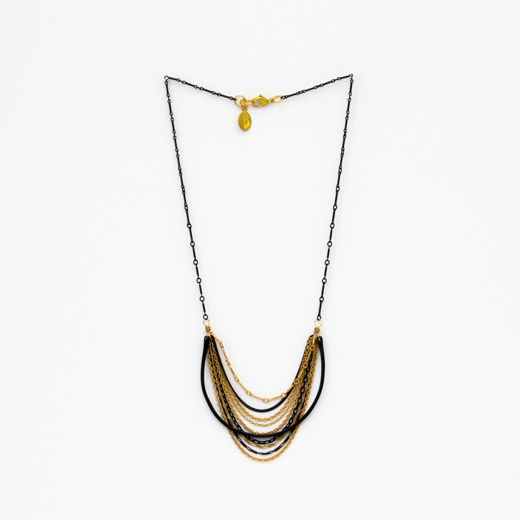 long moon gol trina turk half back pendant necklace
