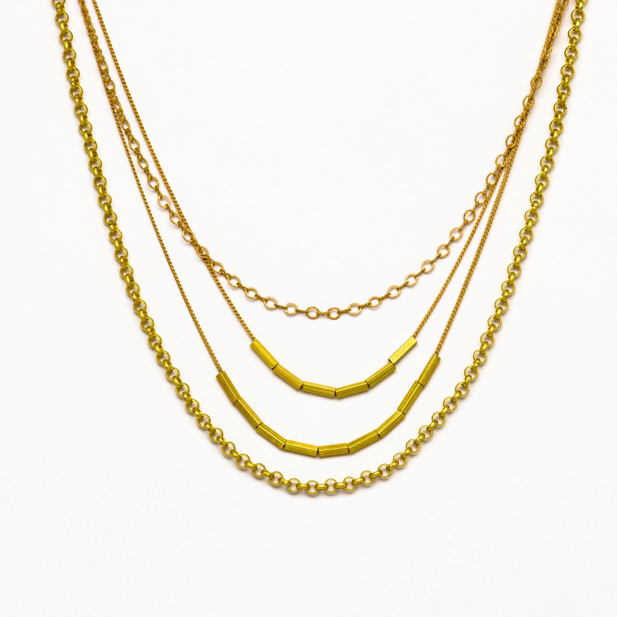 necklace gold maitra