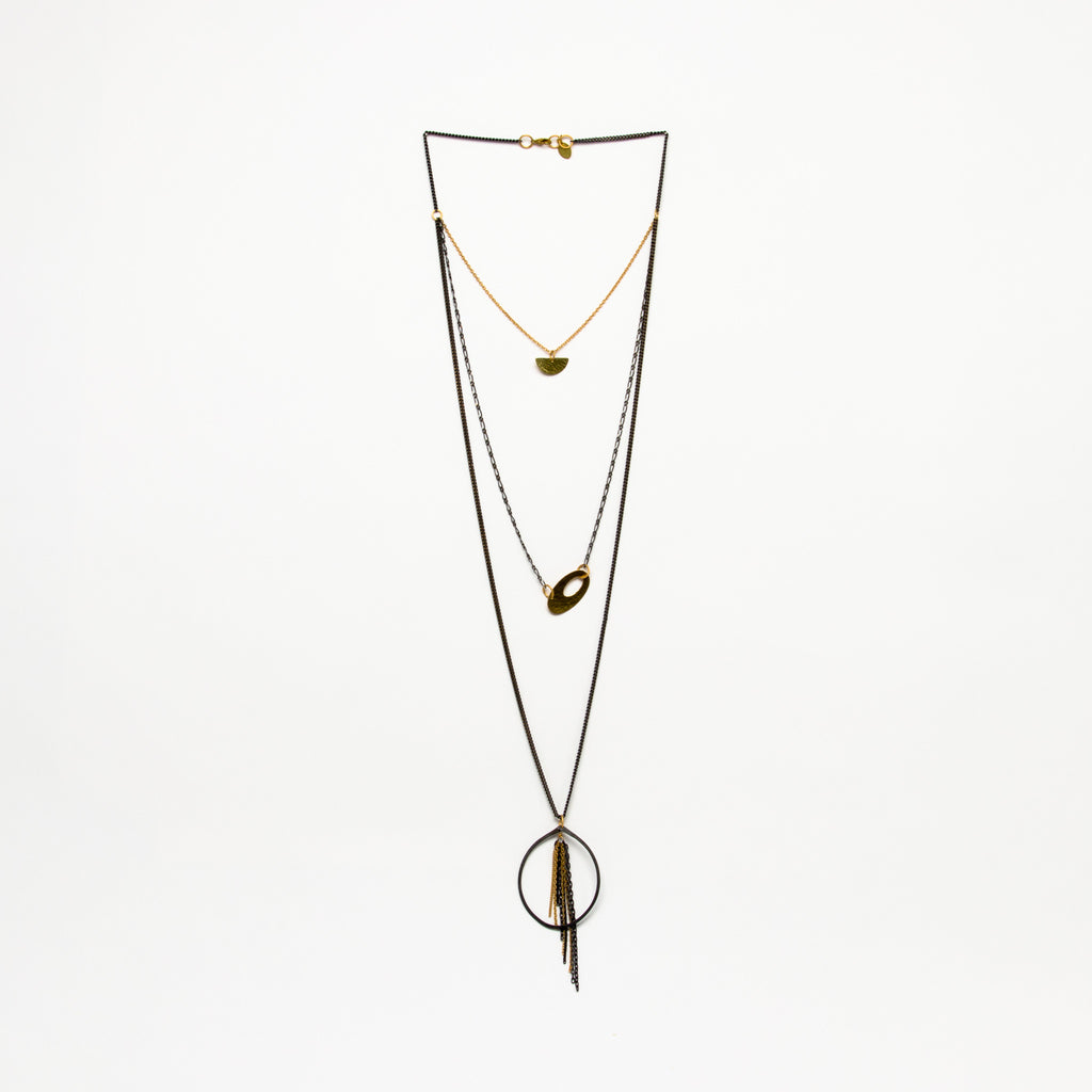 Cecilia Gonzales - Teardrop Mix Necklace