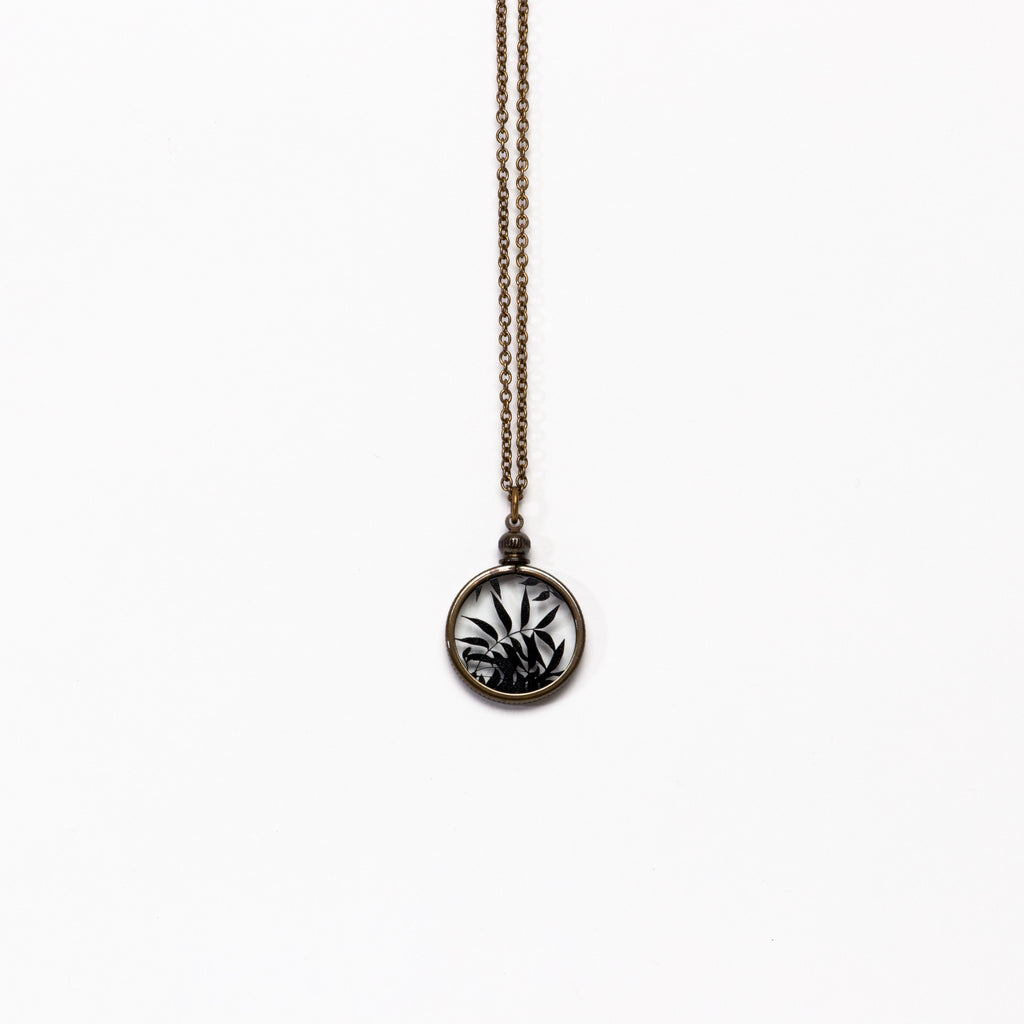 Ornamental Things - Barton Springs Trees Silhouette Necklace