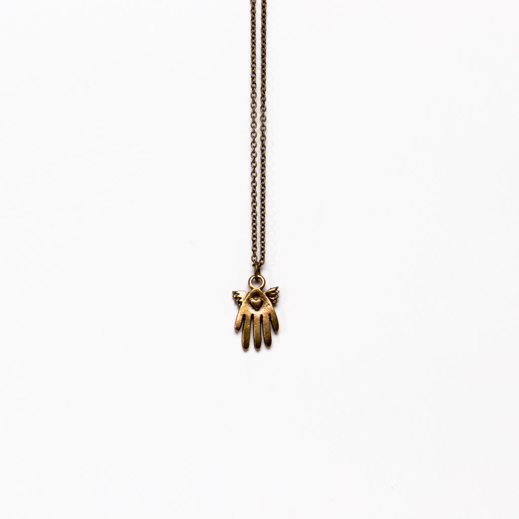 Ornamental Things - Hamsa Necklace