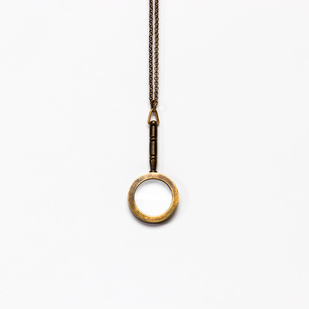 Ornamental Things - Magnifying Glass Necklace