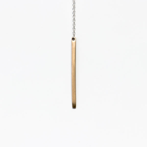 LZZR - The Reck Bar Necklace