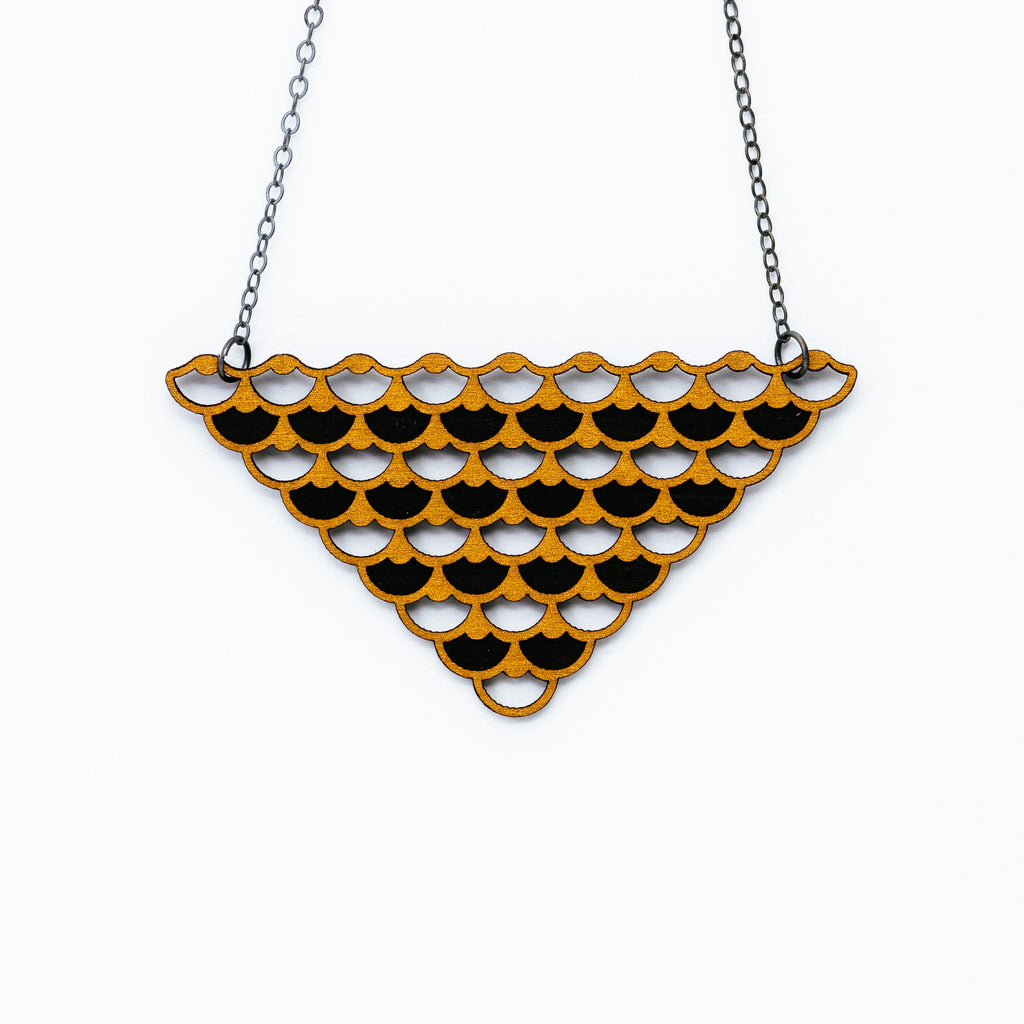 Molly M - Fin Necklace