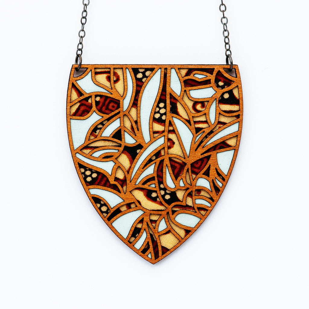 Molly M - Batik Necklace