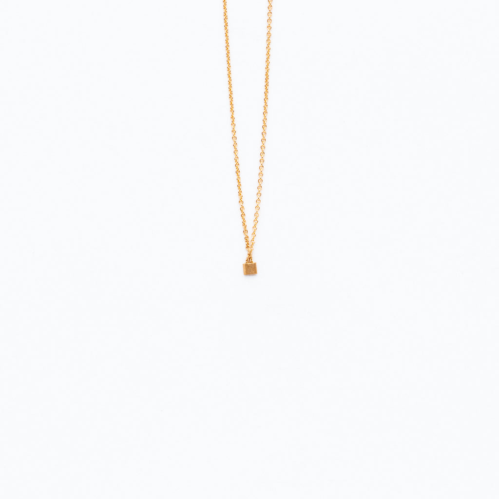 Carla Caruso - Itty Bitty Square Necklace