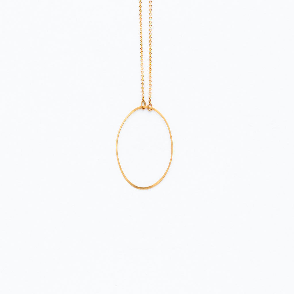 Carla Caruso - Solo Ellipse Necklace