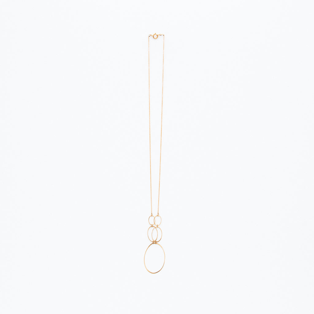 Carla Caruso - Five Ellipse Necklace
