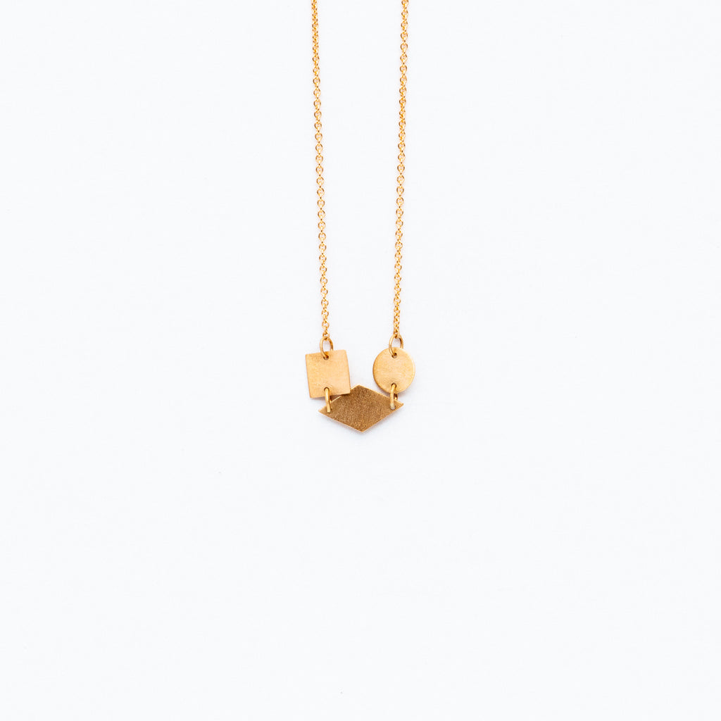 Carla Caruso - Shapes Cluster Necklace