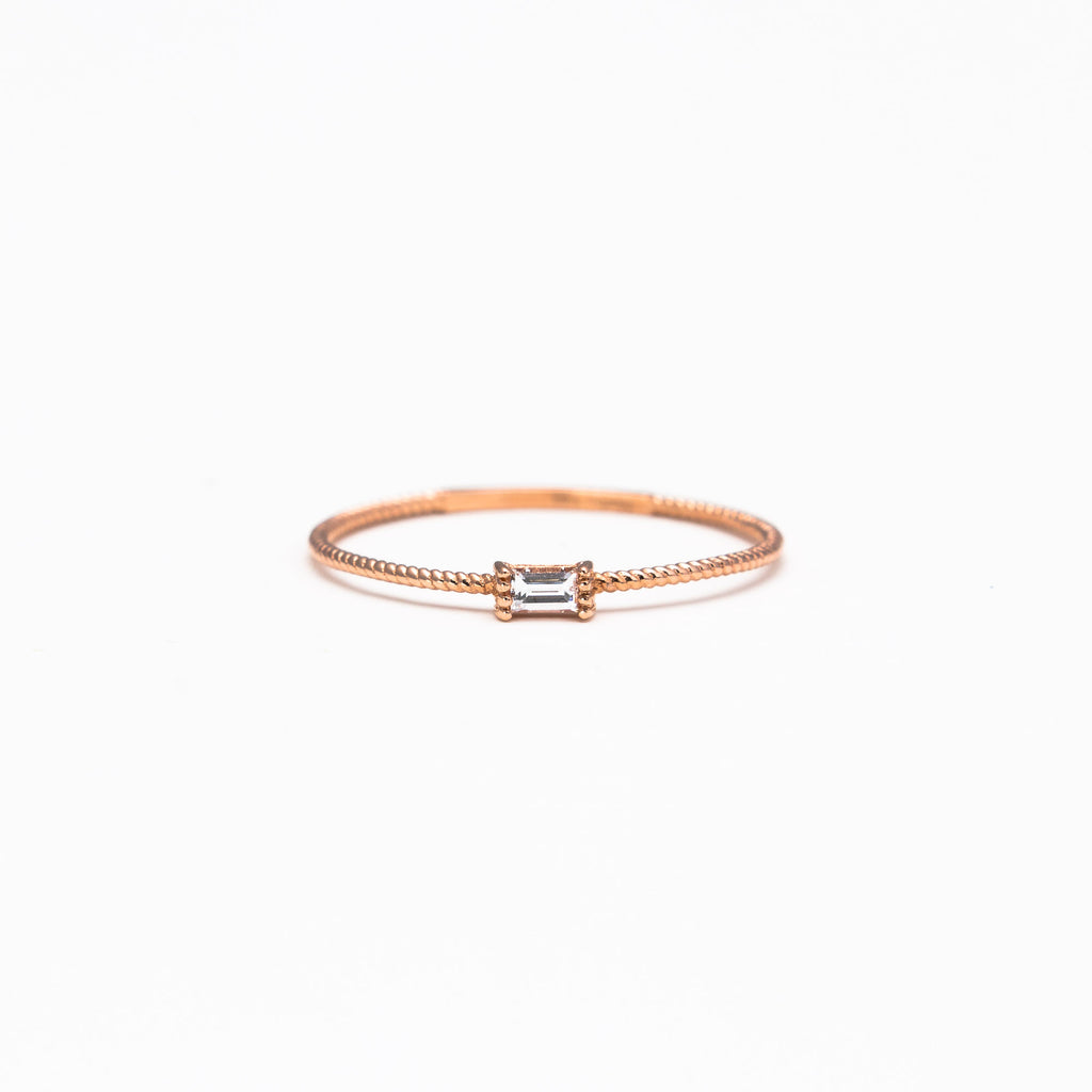 NFC - Solo baguette ring
