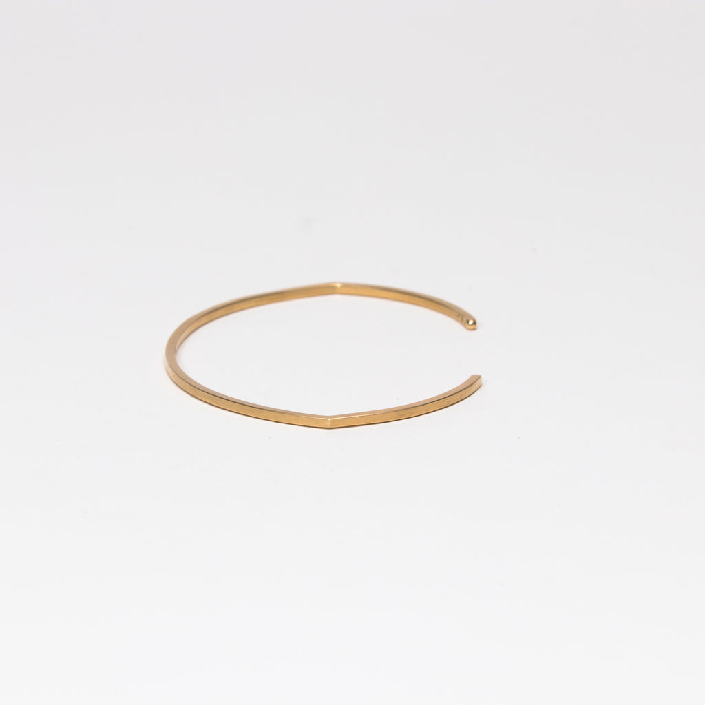 Mute Object - Plain Gold Cuff