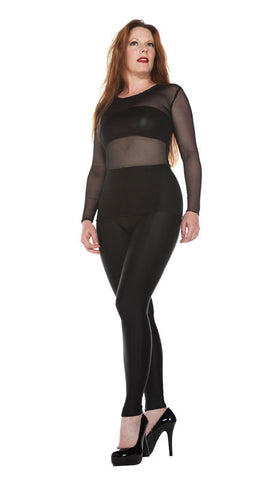 Basic Black Spandex Leggings