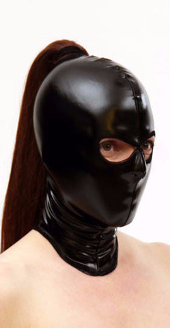 PVC Hood With Eye Holes