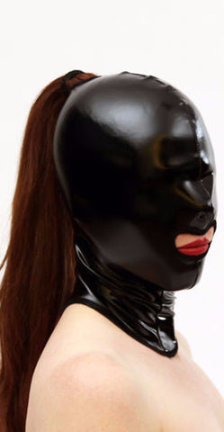 PVC Hood With Mouth Hole