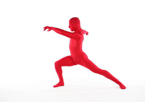 Zentai Catsuit In Bright Red