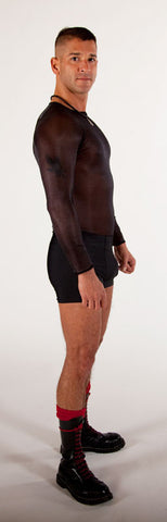 Spandex Boy Shorts