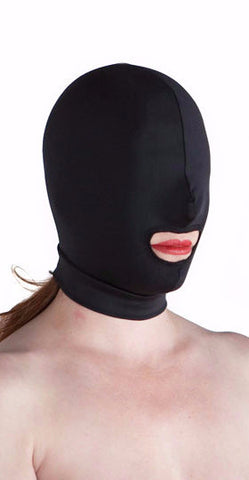Premium made in USA spandex mouth hole hood
