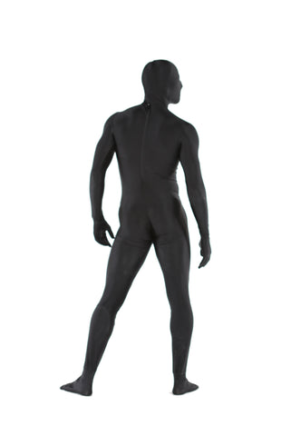 Zentai Catsuit. Spandex zentai with crotch zipper.