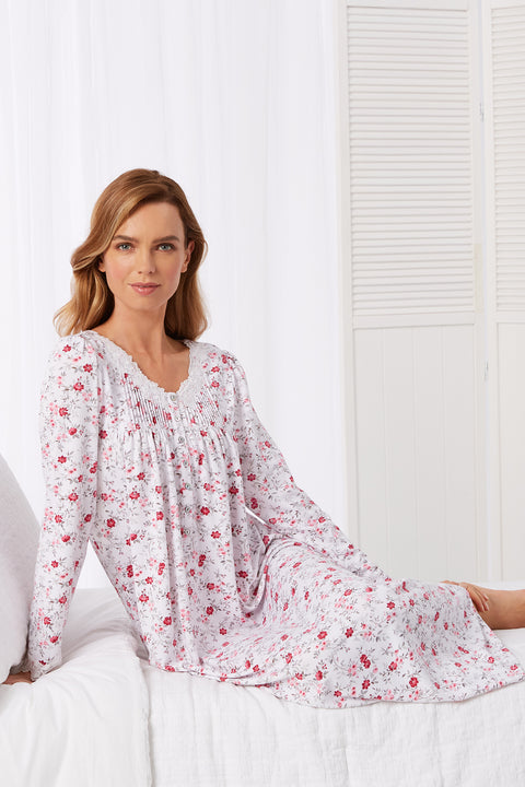 Cozy Roses Ballet Nightgown