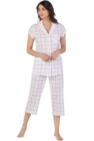 Swiss Dot Plaid Pajama
