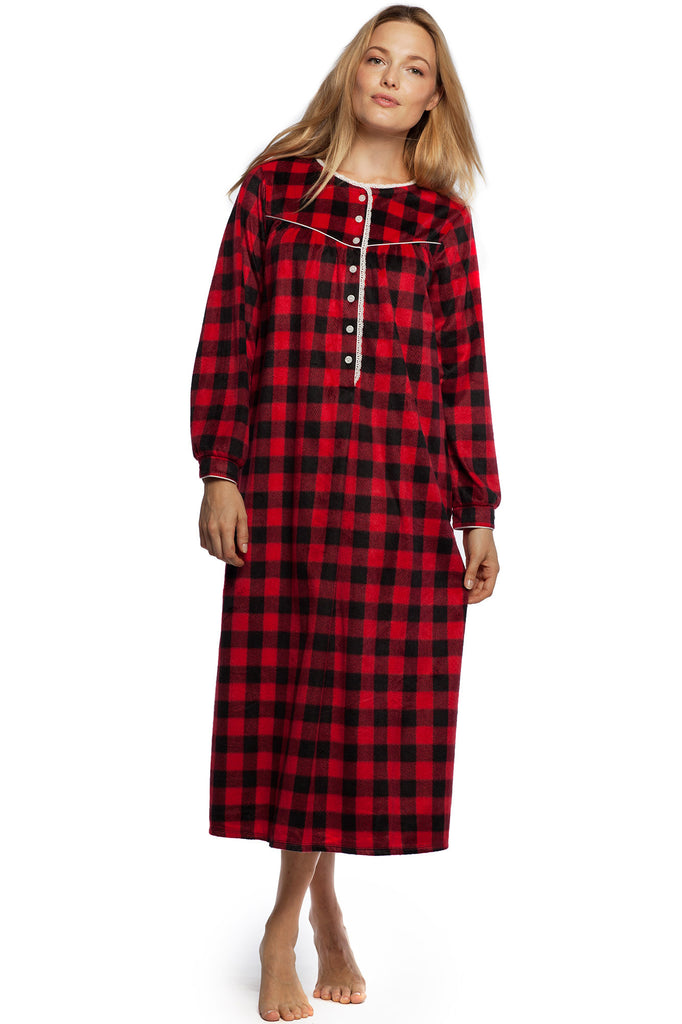 Holiday Cheer Microfleece Gown