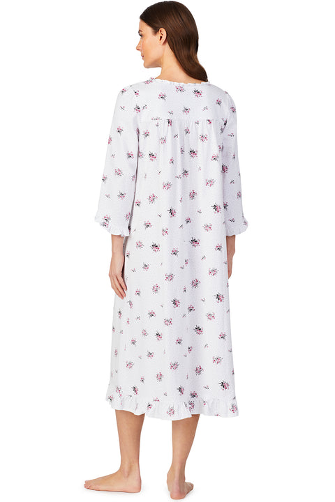 Cheer Blossom Long Sleeve Ballet Nightgown