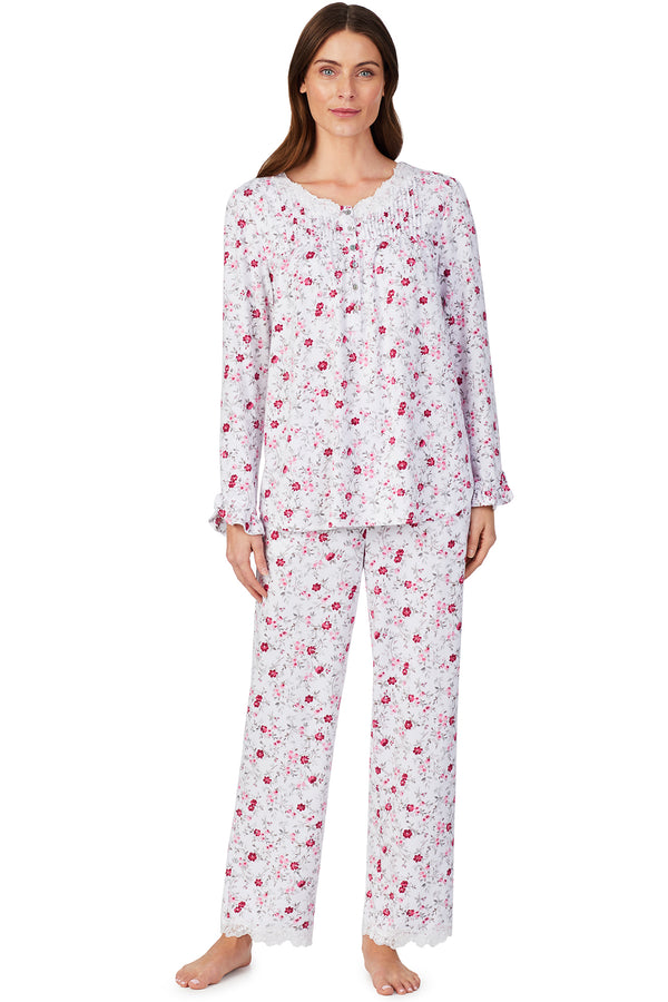 Cozy Roses Pajama Set