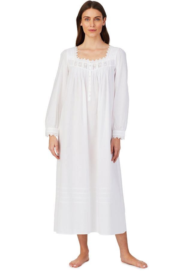 Sweet Sugar Long Sleeve Nightgown- Petite