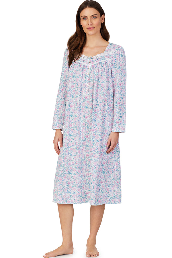 Grandmother's Garden Ballet Nightgown