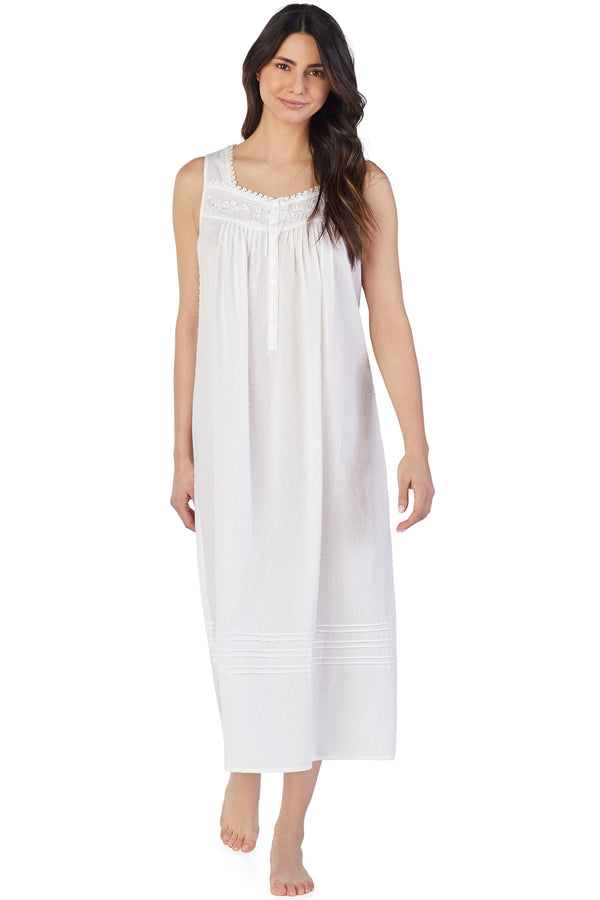 Whisper Soft Stripe Gown