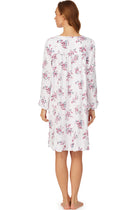 Plumberry Floral Short Nightgown