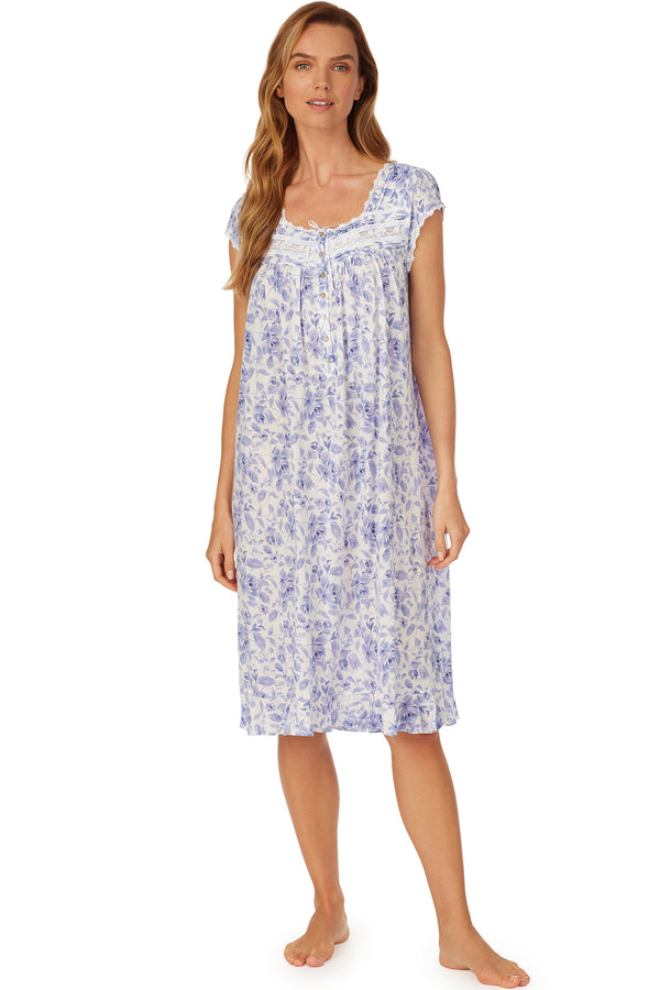 Azure Dreams Waltz Nightgown - Plus