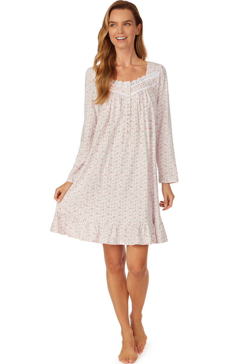 Blush Bouquet Short Nightgown