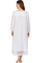 White Elegance Ballet  L/S Nightgown