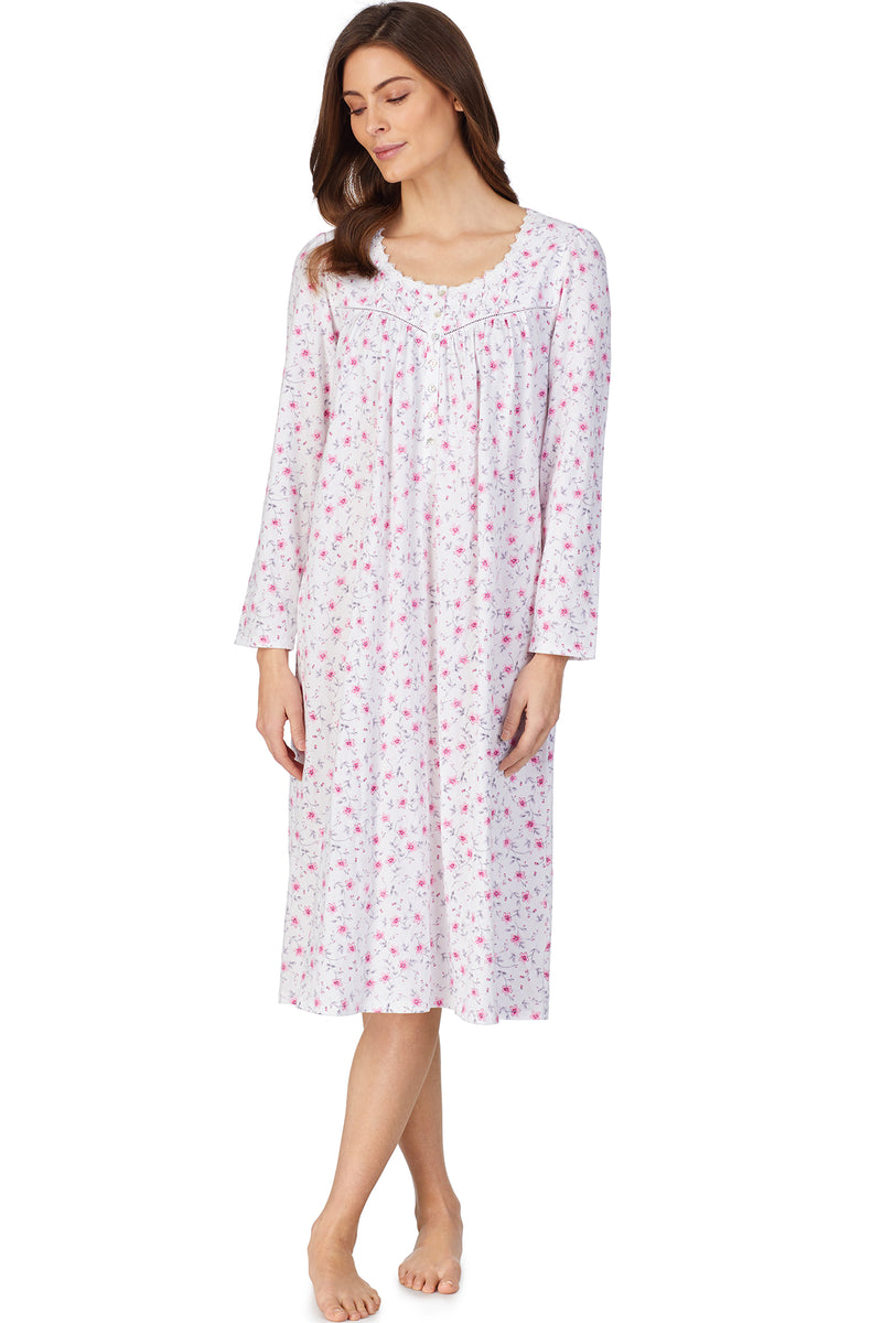 Sweet Pea Cotton L/S Nightgown