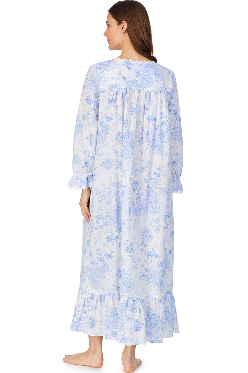 Blue Danube Button Front Robe