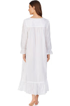White Pearl Long Sleeve Nightgown