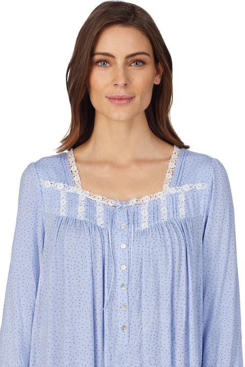 Sweet Peri Long Sleeve Nightgown