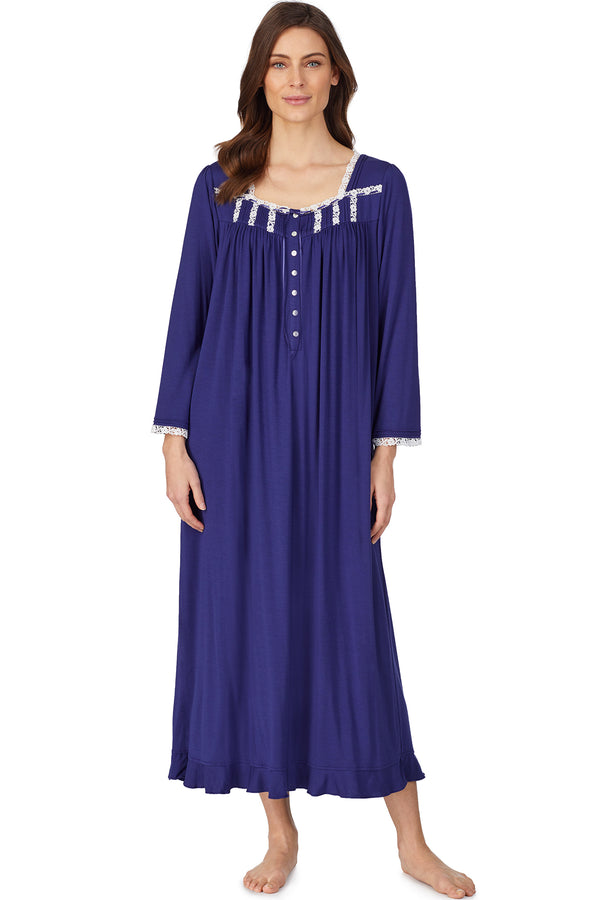 Indigo Night Long Sleeve Nightgown