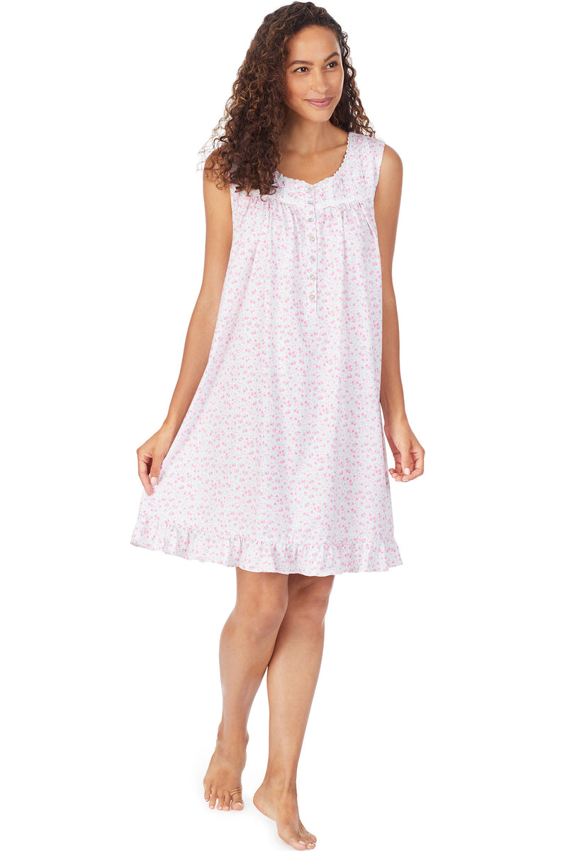 Bolinas Rose Short Gown