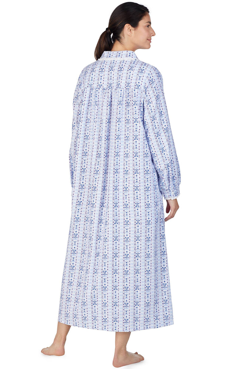 Jewel Tyrolean Flannel Gown