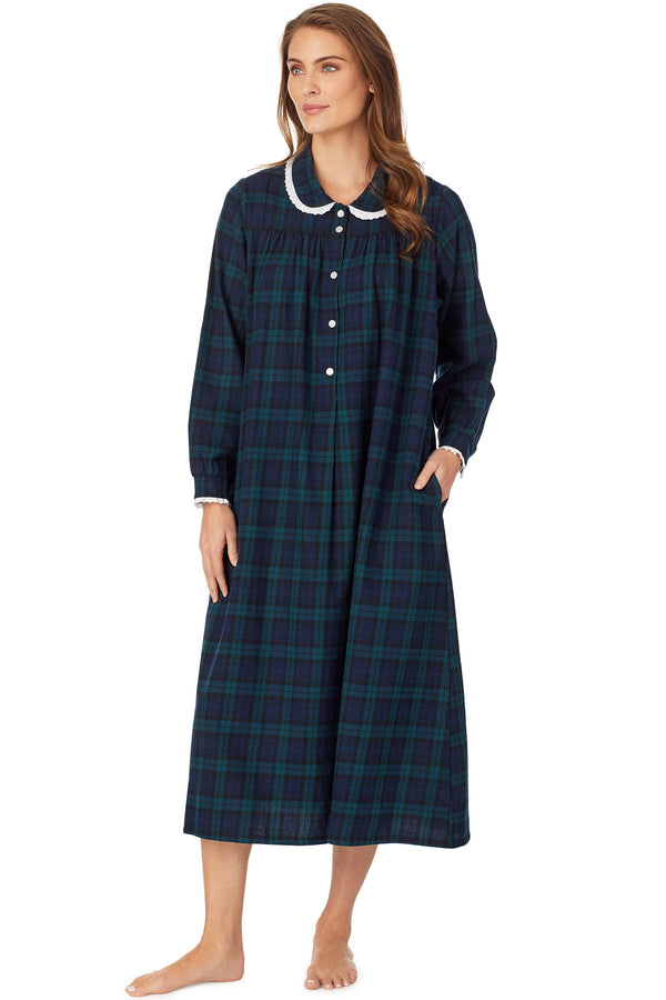 Black Watch Plaid Gown